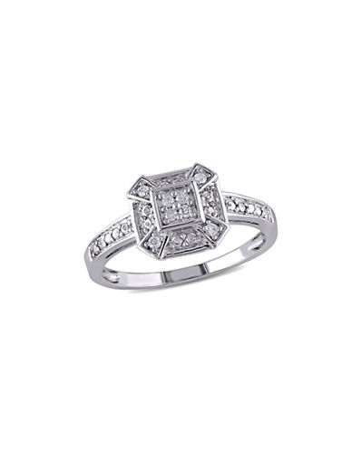 Concerto 0.08 TCW Diamond Sterling Silver Ring-DIAMOND-7