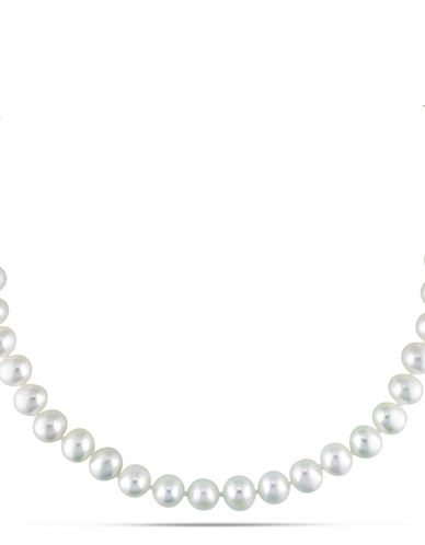 Concerto 7-7.5mm Freshwater Pearl and Sterling Silver Necklace-WHITE-One Size