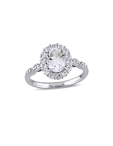 Concerto Diamond 14K White Gold Vintage Ring-WHITE-7