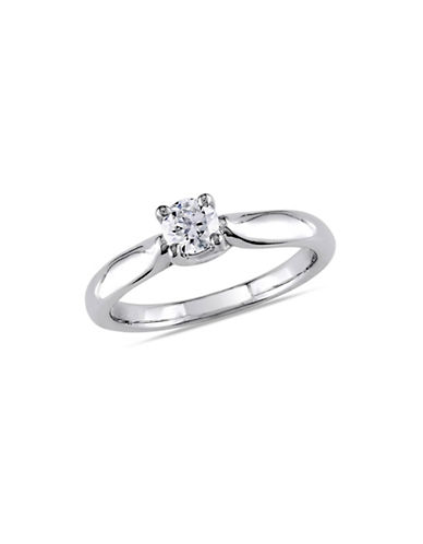 Concerto 14K White Gold  0.33 tcw Diamond Ring-WHITE GOLD-8