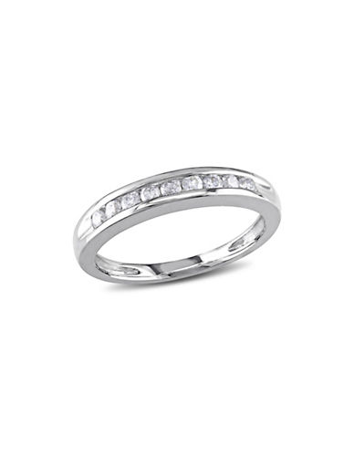 Concerto 14K White Gold Channel Set 0.25tcw Diamond Ring-WHITE GOLD-8