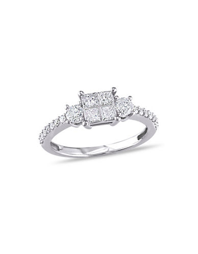 Concerto 14K White Gold  0.75 tcw Diamond Ring-WHITE GOLD-8