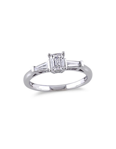 Concerto 14K White Gold 0.75 tcw Diamond Ring-WHITE GOLD-5