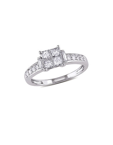Concerto 14K White Gold  0.65 tcw Diamond Ring-WHITE GOLD-6