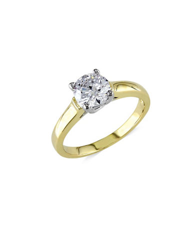 Concerto 14K Yellow Gold 1.0 tcw Diamond Solitaire Ring-GOLD-5