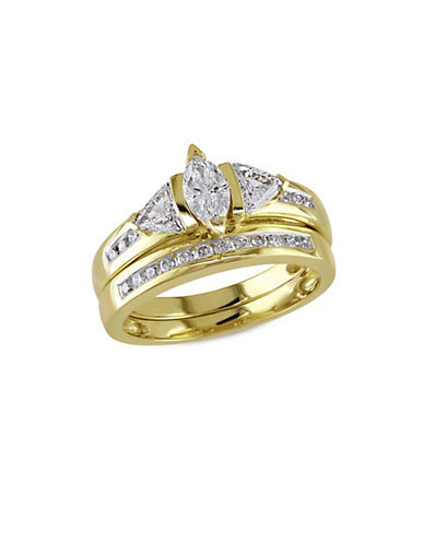 Concerto 14K Yellow Gold 1.0tcw Diamond Ring-GOLD-7