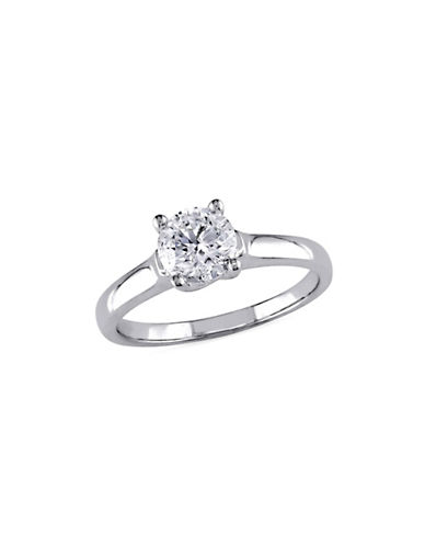 Concerto 14K White Gold 1.0 tcw Diamond Solitaire Ring-DIAMOND-7