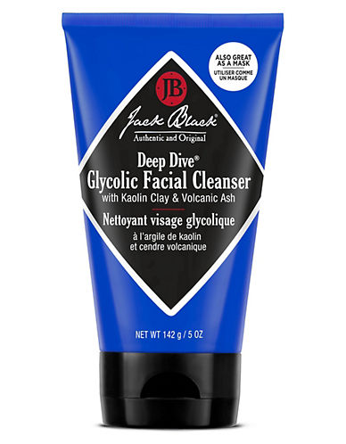 Jack Black Deep Dive Glycolic Facial Cleanser With Kaolin Clay and Volcanic Ash-NO COLOUR-150 ml