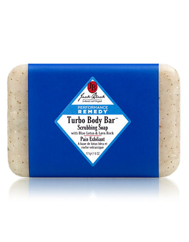Jack Black Turbo Body Bar Scrubbing Soap with Blue Lotus and Lava Rock-NO COLOUR-0