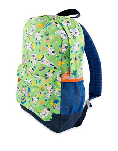 Hatley Space Cadet Large Backpack-GREEN-0