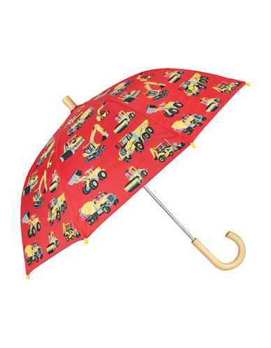 Hatley Construction-Machine Printed Umbrella-RED-One Size