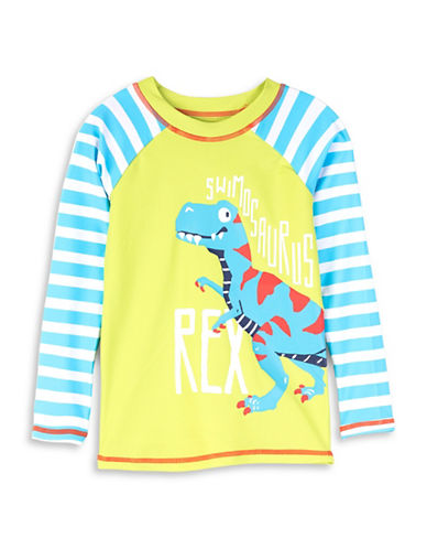 Hatley T-Rex Printed Rash Guard-ASSORTED-6