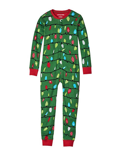 Little Blue House Northern Cotton Coverall-GREEN-4