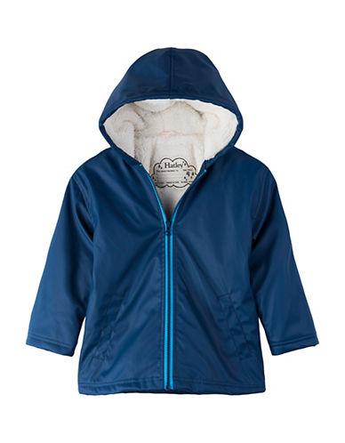 Hatley Zip-Front Rain Jacket-BLUE-3