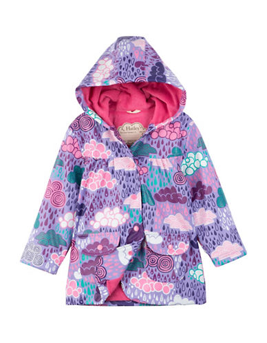 Hatley Stormy Days Raincoat-BLUE/PURPLE-2