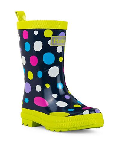 Hatley Sunny Dots Rain Boots-BLACK-11