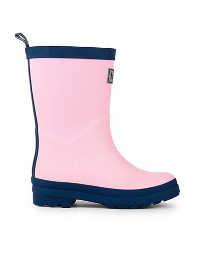 Hatley Two-Tone Rain Boots-PINK-7