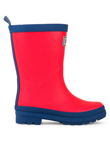 Hatley Two-Tone Rain Boots-RED-5