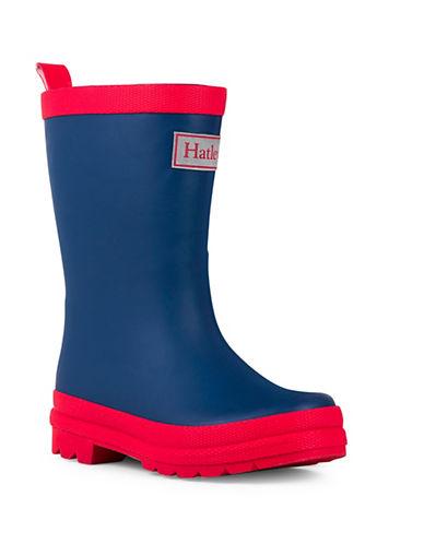 Hatley Two-Tone Rain Boots-NAVY-8