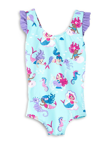 Hatley Mermaid and Seahorse Printed Swimsuit-ASSORTED-2