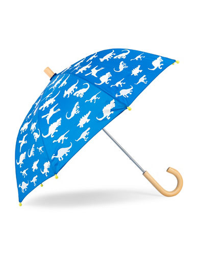 Hatley Dinosaur Colour Changing Umbrella-BLUE-One Size