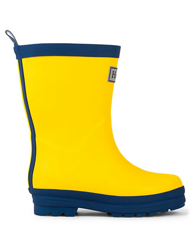 Hatley Two-Tone Rain Boots-YELLOW-12