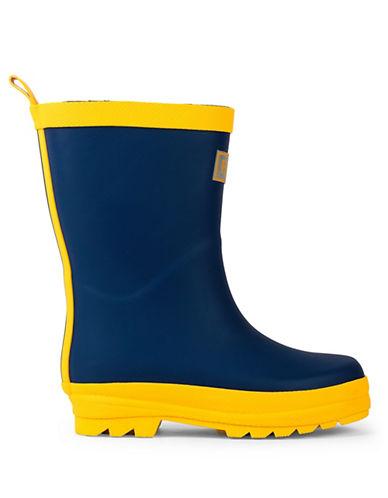 Hatley Two-Tone Rain Boots-NAVY-11