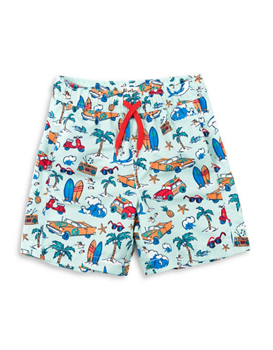 Hatley Printed Swim Trunks-ASSORTED-3