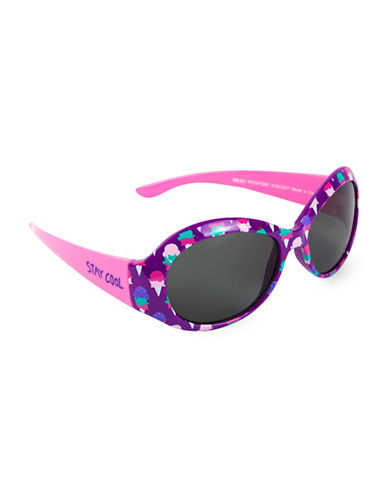 Hatley Stay Cool Round Sunglasses-PINK-One Size