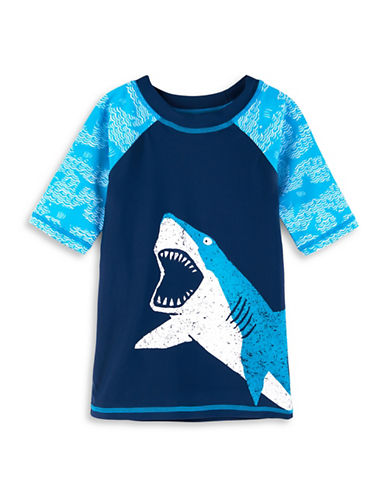 Hatley Whale-Print Rash Guard-ASSORTED-3
