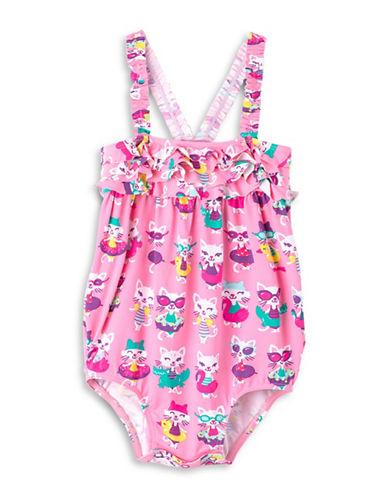 Hatley Cat-Print Mini Swimsuit-ASSORTED-9-12 Months