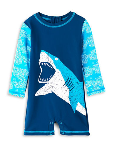 Hatley Whale Printed Mini One-Piece Rashguard-ASSORTED-12-18 Months