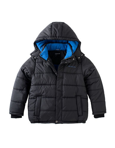 Calvin Klein Eclipse Bubble Jacket-BLACK-4