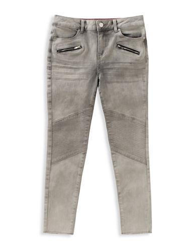 Calvin Klein Zip Ultimate Skinny Jeans-OYSTER-8