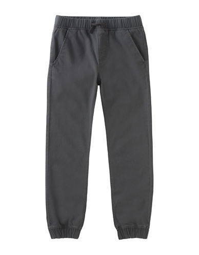 Calvin Klein Electric Jogging Pants-GREY-18