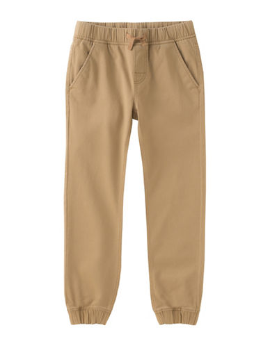 Calvin Klein Electric Jogging Pants-BEIGE-14