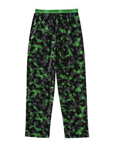 Calvin Klein Camo Jersey Pants-ASSORTED-14-16