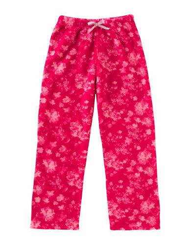 Calvin Klein Floral Plush Pyjama Pants-PINK-14-16