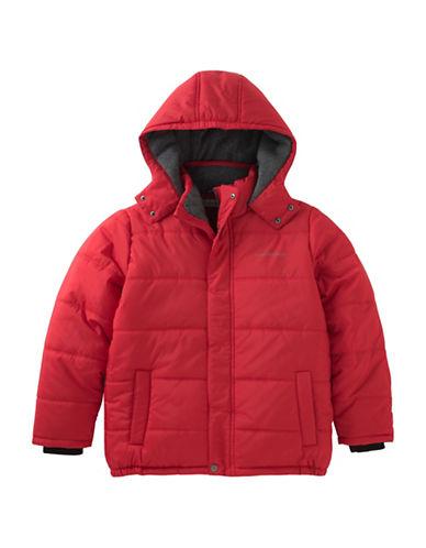 Calvin Klein Eclipse Bubble Jacket-RED-5