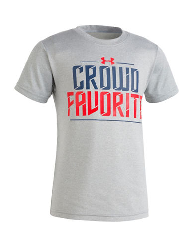 Under Armour Crowd Favorite Short-Sleeve Tee-BLUE-4