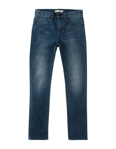 Calvin Klein Super Skinny Stretch Jeans-BLUE-16