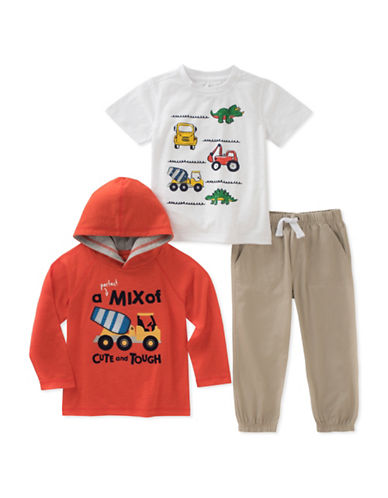 Kids Headquarters Three-Piece Construction Set-ASSORTED-2T