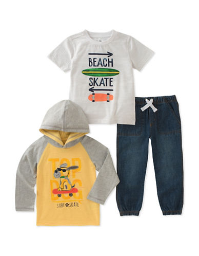 Kids Headquarters Three-Piece Skate Set-ASSORTED-2T