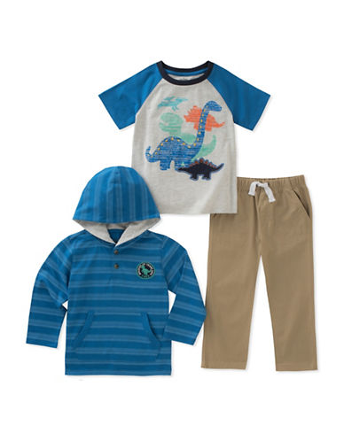 Kids Headquarters Three-Piece Dino Set-ASSORTED-4T