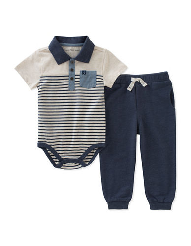 Calvin Klein Two-Piece Bodysuit and Jogger Set-ASSORTED-24 Months