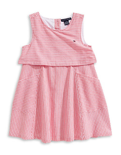 Calvin Klein Stripe Sleeveless Dress 89863334