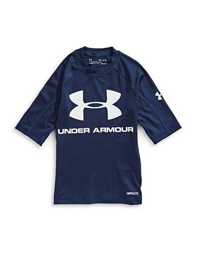 Under Armour Compression Rash Guard-BLUE-Large 89945859_BLUE_Large