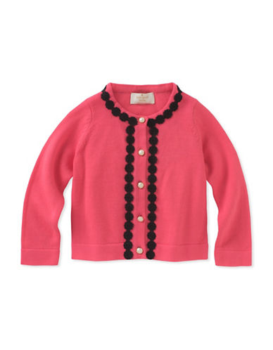 Kate Spade New York Lace-Trimmed Cotton Cardigan 89912352