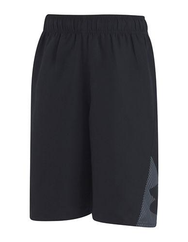 Under Armour Slash Swim Shorts-BLACK-Small 89945843_BLACK_Small