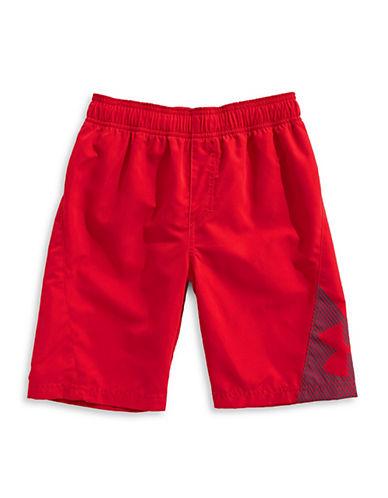 Under Armour Slash Volley Shorts-RED-Medium 89977400_RED_Medium